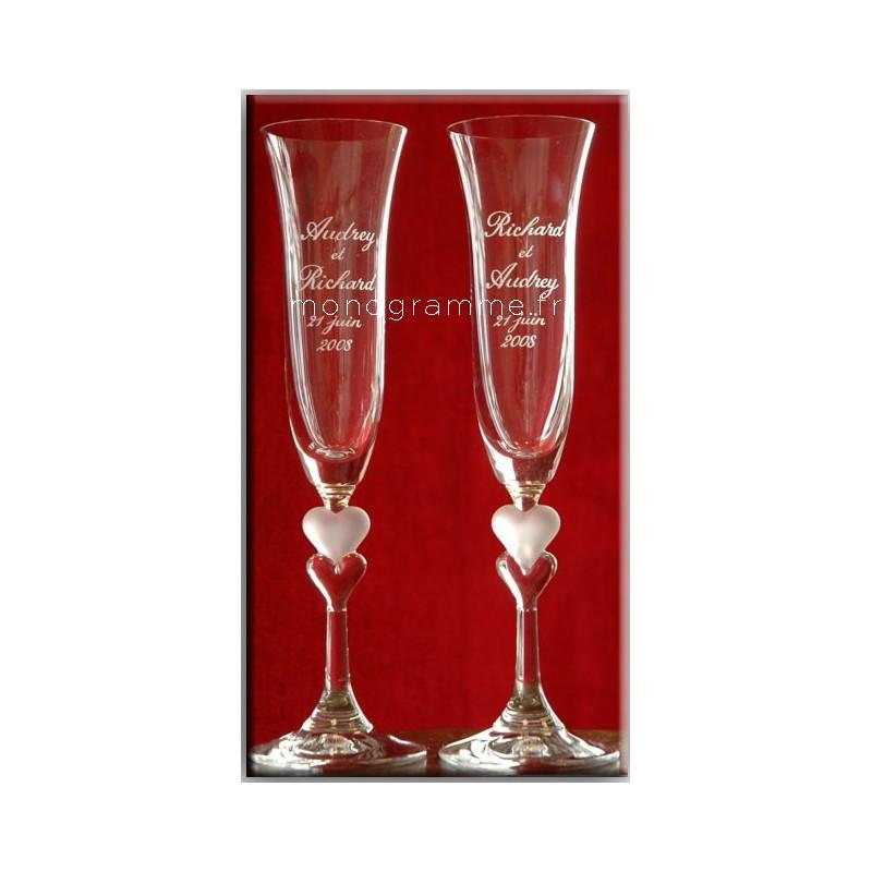 2 Flûtes Valentine's